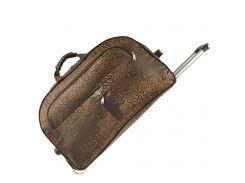 Дорожная сумка BagHouse 60 х 34 х 32 см Коричневая (ксЛ009вкор)