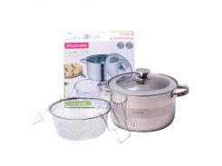 Набор кухонной посуды Kamille 3 предмета (KM-4514S)
