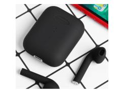 Беспроводные Bluetooth наушники HBQ V8 TWS black (1035) (TW181035)