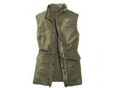 Жилет Eddie Bauer Womens Vest Flap Pockets KHAKI M Хаки (7113629KH)