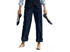 Брюки Eddie Bauer Womens Straight Leg Trousers NAVY 46 Синий (7115031NV)