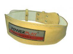 Пояс для важкої атлетики PowerPlay 5084 Світло коричневий XL (FO83PP_5084_XL)