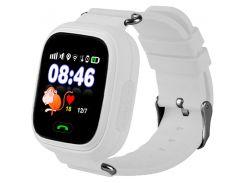 Детские часы с GPS Smart Baby Watch Q90S White (nri-2222)