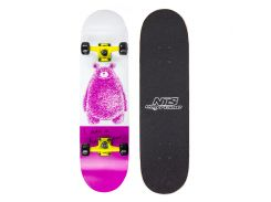 Скейтборд Nils Extreme CR3108SB Pink Bear (CR3108SB-PB)