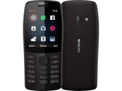 Мобильный телефон Nokia 210 Dual Sim Black (16OTRB01A02)