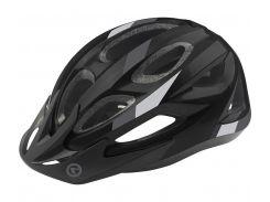 Шолом велосипедний KLS JESTER S-M Black-Grey