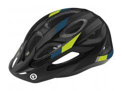 Шолом велосипедний KLS JESTER S-M Black-Green