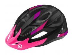 Шолом велосипедний KLS JESTER S-M Black-Pink