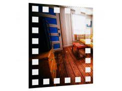 Зеркало прямоугольное без подсветки SmartWorld Vesta 80x60x0.4 см (3002-F9-80x60)