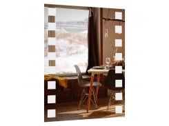Зеркало прямоугольное без подсветки SmartWorld Brasica 70x60x0.4 см (3005-F25-70x60)