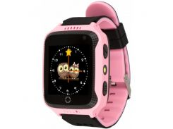 Детские умные GPS часы Smart Watch Q529 Pink (470-01)