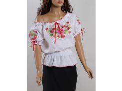 Блуза женская вышиванка Колос 44 Шипшина  ( 3051/144) (2- 3051/144)