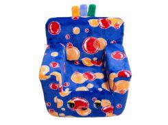 Детское кресло Kronos Toys Пузыри Синие (zol_218-1)