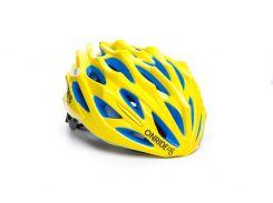 Шолом велосипедний OnRide Serval M Жовтий з синім (hub_GONA43894)