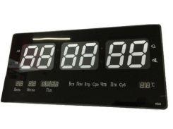 Часы электронные Digital Clock Черные (hub_VKRn30396)