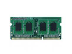 Оперативная память Exceleram SoDIMM DDR3 4GB 1600 MHz E30170A (F00089013)