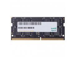 Оперативная память Apacer SoDIMM DDR4 4GB 2666 MHz (AS04GGB26CQWBGH)