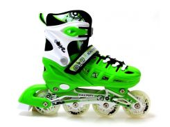 Роликовые коньки Scale Sports 38-42 Green (1352221227-L)