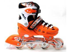Роликовые коньки Scale Sports 34-37 Orange (954994693-M)