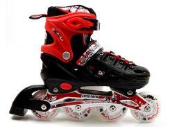 Роликовые коньки Scale Sports 34-37 Red (1352221228-M)
