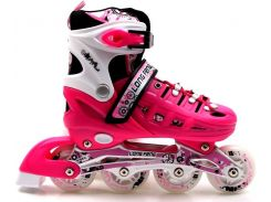 Роликовые коньки Scale Sports 34-37 Pink (1516215648-M)