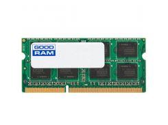 Оперативная память Goodram SODIMM DDR3 8GB 1600MHz PC3-12800 GR1600S364L11/8G (542951)