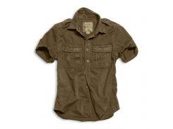Рубашка Surplus Raw Vintage Shirt Brown S Коричневый (06-3590-05-S)