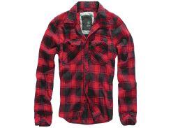 Рубашка Brandit Check S Красный (4002.41)