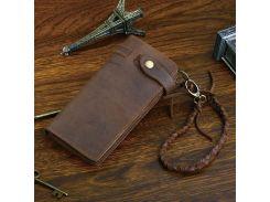 Мужской клатч Vintage 14383 из винтажной кожи Коричневый, Коричневый