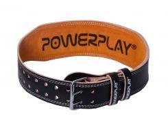 Пояс для важкої атлетики  PowerPlay 5084 Чорно-Жовтий S (FO83PP_5084_S_Black)