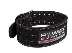 Пояс для пауэрлифтинга Power System Power Lifting PS-3800 M Black (VZ55PS-3800_M_Black_Black)