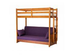 Двухъярусная кровать-диван 80*190