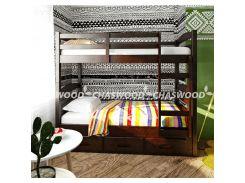 Двухъярусная кровать Лео