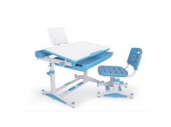Комплект парта и стульчик Evo-kids BD-04 XL New Blue