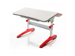 Детский стол Mealux Ferrari Red - столешница береза / цвет пластика красные