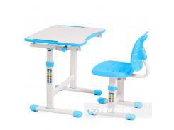 Комплект FUNDESK парта + стул трансформеры OMINO BLUE