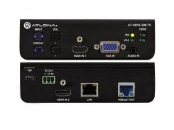AT-HDVS-200-TX Switcher 3х1 с двумя входами HDMI и входом VGA и выходом HDBaseT