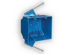 Установочная коробка двухганговая из ПВХ