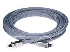Premium S/PDIF (Toslink) Digital Optical Audio Cable, длина 3.00 м.