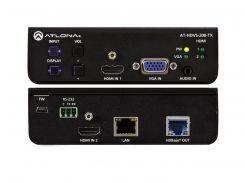 AT-HDVS-200-TX Switcher 3х1 с двумя входами HDMI и входом VGA и выходом HDBaseT