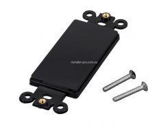 MP34484 Пустая декоративная вставка для рамок, цвет - черный