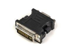 Переходник PowerPlant VGA - DVI-I (24+5 pin), черный