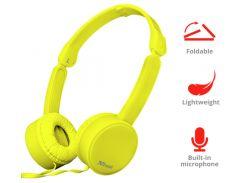Гарнитура наушники Trust Nano Foldable Headphones Yellow