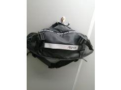 Рюкзак-сумка на пояс Aspor  Universal (waterproof) бананка, чёрный