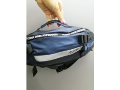 Рюкзак-сумка на пояс Aspor  Universal (waterproof) бананка, синий