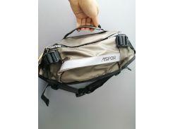 Рюкзак-сумка на пояс Aspor  Universal (waterproof) бананка, графити