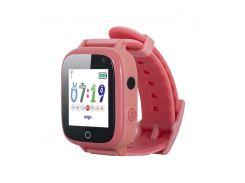 Детские часы с GPS трекером ERGO GPS Tracker Color C020 Pink