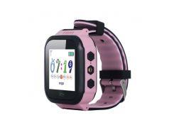 Детские часы с GPS трекером ERGO GPS Tracker Color J020 Pink