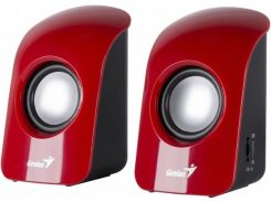 Акустика Genius SP-U115 2.0 USB Red