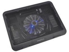 Подставка для ноутбука Omega Laptop Cooler Pad WIND Black